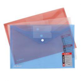 Button Folder With Name Card Holder, Globox 6890