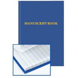 Manuscript book-lined