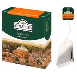 Tea Ahmad 100pack, Ceylon Tea