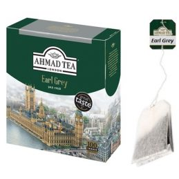 Tea Ahmad 100pack, Earl Grey Tea