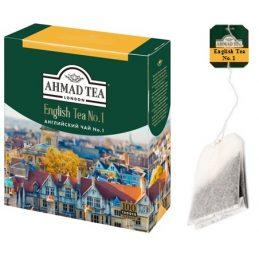 Tea Ahmad 100pack, English Tea No.1