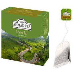 Tea Ahmad 100pack, Green Tea