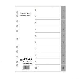 Divider-Atlas Plastic 1-10