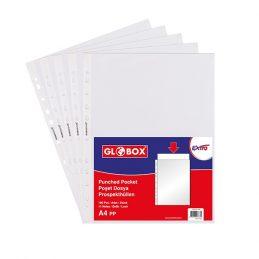 Clear pockets Globox, 50mcr , 6763
